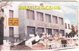 GUATEMALA - National Library, Chip GEM3.1, Used - Guatemala