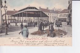 CP De 1903 : Marché Au Beurre De Turnhout , Très Animée , Chariot Et Travaux - Turnhout