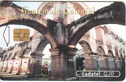 GUATEMALA - Guatema Colonial 4, Chip GEM3.3, Used - Guatemala