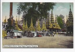 Sacred Well & Shrine, Shwe Dagon Pagoda, Rangoon - Ahuja 94 - Myanmar (Burma)