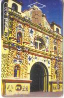 GUATEMALA - Iglesia De San Andres Xecul, Chip GEM3.3, Used - Guatemala