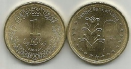 Libya 1 Dinar 2017. High Grade - Libië