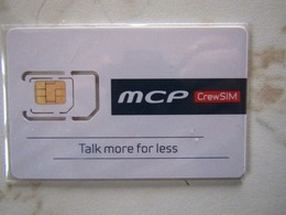 SIM   GSM  NORWAY   MCP   CREW SIM   TOP  MINT - Norvège