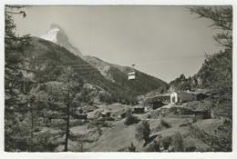 Valais    Luftseilbahn Zermatt-Schwarzsee Mit Kapelle Blatten - VS Valais
