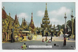 Scene On Shwe Dagone Pagoda - Ahuja 31 - Myanmar (Burma)