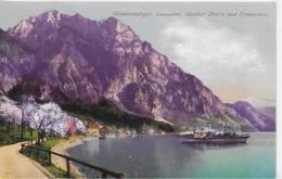 AK 0152  Gmunden - Gasthof Hois' N Und Traunstein Mit Dampfer / Verlag Brandt Um 1913 - Gmunden