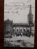 L14/33 Saint Leger Sous Beuvray. L'Eglise - France