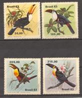 Brazil, Yvert 1600/1603, Scott 1857/1860,  MNH - Brazil
