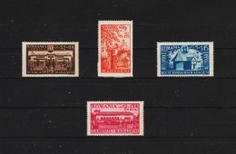 1944 - En L Honneur De Radasani Mi 793/796  MNH - 1918-1948 Ferdinand, Carol II. & Mihai I.
