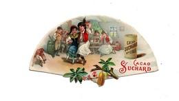 CHROMO Chocolat Suchard En Forme D'éventail Enfants Musiciens Danse Danseuse Tapis Turquie? - Suchard