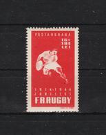 1944 - 30 Anniv. De La Federation De Rugby Mi 792 Et Yv 769 MNH - 1918-1948 Ferdinand, Carol II. & Mihai I.