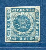 Danemark, N° 3 * Beau - 1851-63 (Frederik VII)