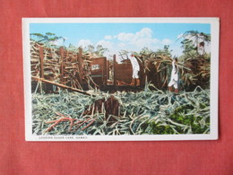 Loading Sugar Cane  Hawaii  3153 - Honolulu