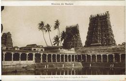 CPA - INDE - Mission Du MADURE - Etang Sacré Du Loteus D'or Dans La Pagode De Madura - Inde