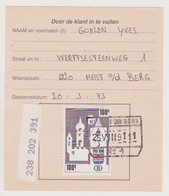 TR 464 - Heist Op Den Berg - Chemins De Fer