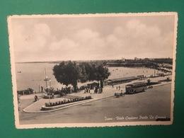 Cartolina Trani - Viale Capitano Paolo De Gemmis - 1954 - Bari