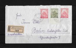 1942 BÖHMEN UND MÄHREN → R-Brief Mährisch-Ostrau Nach Berlin - Bohême & Moravie