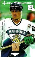 FINLAND 30 M  HOCKEY PLAYER MAN SPORT 1996  CHIP EX. DATE 12/1997 READ DESCRIPTION !! - Finland