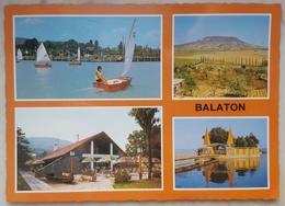 BALATON - Magyar - Hungary - Udvozlet A Balatonrol - Greeting From Lake Balaton - Camping Bar  Vg - Ungheria