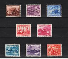 1943 - CENTENAIRE DE L ARTILLERIE Mi No 782/489 - 1918-1948 Ferdinand, Carol II. & Mihai I.