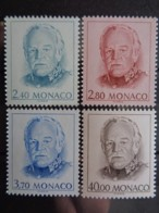 MONACO 1993 Y&T N° 1881 à 1884 **  - EFFIGIE DE S.A.S. RAINIER III - Monaco