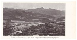 1924 - Iconographie -  Bocognano (Corse) - La Vallée - FRANCO DE PORT - Vieux Papiers