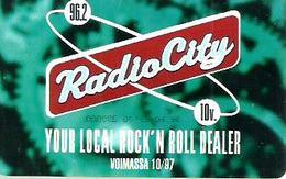 FINLAND 30 M  RADIO CITY   MUSIC  CHIP  READ DESCRIPTION !! - Finland