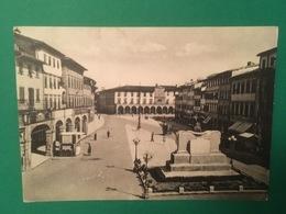Cartolina Figline Valdarno - Piazza Marsilio Ficino - 1934 - Firenze