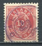 Island Nr.8 B       O  Used               (075) - Gebraucht
