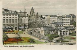 Berlin - Wittenbergplatz Mit Gedächtniskirche 1955 (002732) - Schöneberg