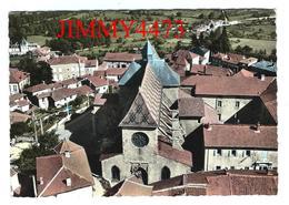 CPM Dentelées - Vue Générale Aérienne - AMBIERLE ( Canton De Renaison Arr. De Roanne ) 42 Loire - N° I K - Recto-Verso - Roanne