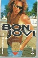 FINLAND 30 M  BON JOVI MAN   MUSIC  CHIP 1996 READ DESCRIPTION !! - Finland