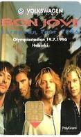 FINLAND 30 M  BON JOVI MEN   MUSIC  CHIP 1996 READ DESCRIPTION !! - Finland