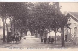 Audenge - La Poste - Avenue De L'église - France
