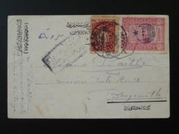 Lettre D'un Prisonnier Civil à Kutahya Pour Beyrouth Empire Ottoman 1916 - 1858-1921 Empire Ottoman
