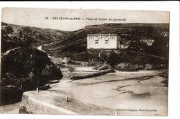 CPA - Carte Postale FRANCE -Belle Ile En Mer-Plage Et Vallon De Locmaria VM262 - Belle Ile En Mer