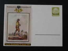 Entier Postal Stationnery Histoire Postal Journée Du Timbre Tag Der Briefmarke Luxembourg 1941 - Entiers Postaux