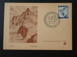 Carte Maximum Card Montagne Mountain Glacier Alpinisme Climbing Autriche 1947 (1) - Maximumkarten (MC)