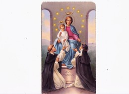 SANTINO  - HOLY CARD -  AVE MARIA - 1953 Serie AR C135 - Images Religieuses