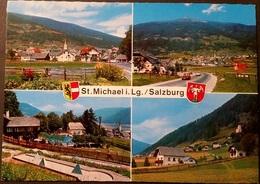 Ak Österreich - St. Michael Im Lungau - Ortsansichten - Wappen - St. Michael Im Lungau