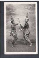 CAMBODIA Phnom- Penh Cambodge Danseuses Cambodgiennes  OLD PHOTO POSTCARD - Cambodia