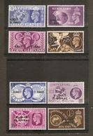 KUWAIT 1948 OLYMPIC GAMES AND 1949 UPU SETS SG 76/83 UNMOUNTED MINT/MOUNTED MINT Cat £10.75 - Kuwait