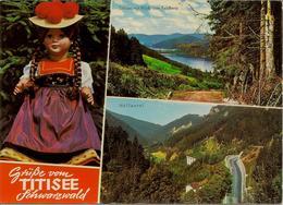CPM Allemagne, Grusse Vom Titisee Schwartzwald (multivues) - Titisee-Neustadt