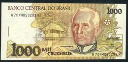 BRESIL P231c   1000   CRUZEIROS    1990  Sign.29        UNC. - Brésil