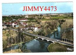 CPM Dentelées - Vue Aérienne En 1968 - Le Pont - VARENNES SUR FOUZON ( Arr. De Issoudun ) 36 Indre - N° 267-62 A - Issoudun