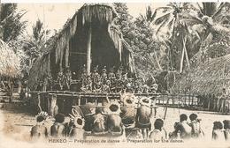 Cpa Mekeo Préparation De Danse - Papouasie-Nouvelle-Guinée