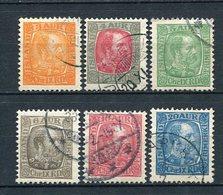 Island Ex.Nr.35/41       O  Used               (101) - 1873-1918 Deense Afhankelijkheid