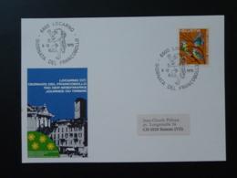 Carte Commemorative Card Pro Juventute Journée Du Timbre Tag Der Briefmarke Locarno Suisse 1970 - Lettres & Documents