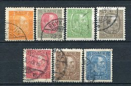 Island Nr.35/41       O  Used               (102) - 1873-1918 Deense Afhankelijkheid