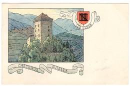 CPA - Les Clees - Châteaux Suisses - Illustration  Ch.A.reuter - VD Vaud